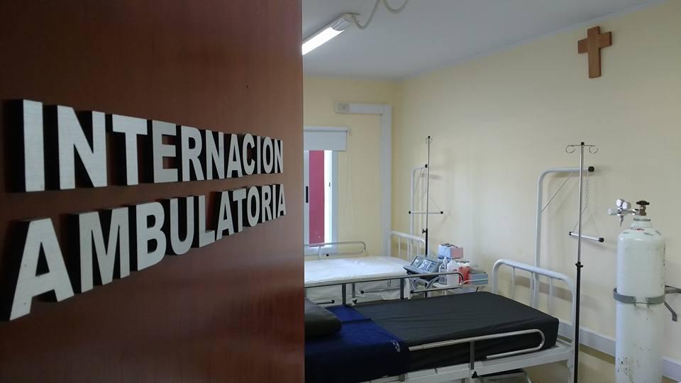 Sala de Internación Ambulatoria del Centro Municipal de Salud Dr. Arturo U. Illia.