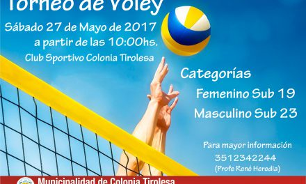 TORNEO DE VOLEY 2017