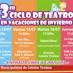 3ER CICLO DE TEATRO EN VACACIONES DE INVIERNO