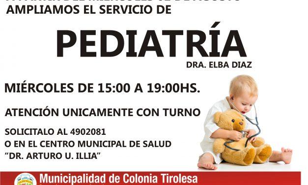 INCORPORACIÓN SERVICIO DE PEDIATRÍA
