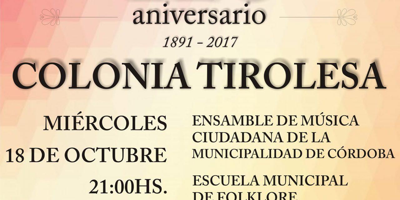 Celebración del 126º Aniversario de Colonia Tirolesa