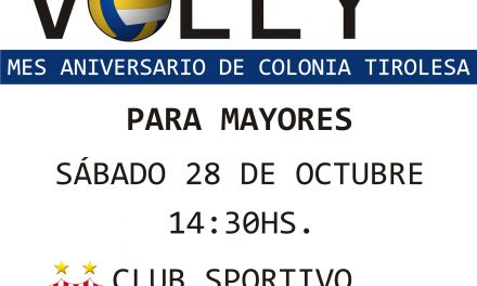 TORNEO DE VOLEY