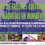 EXPO TALLERES CULTURALES Y MAQUETAS EN MINIATURA