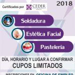 CURSOS GRATUITOS 2018