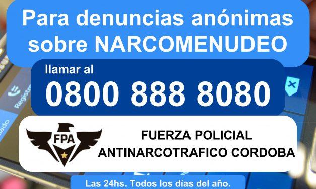 DENUNCIEMOS EL NARCOTRÁFICO