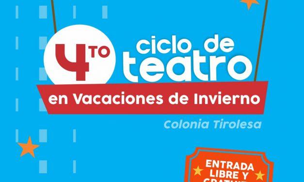 4° CICLO DE TEATRO EN VACACIONES DE INVIERNO