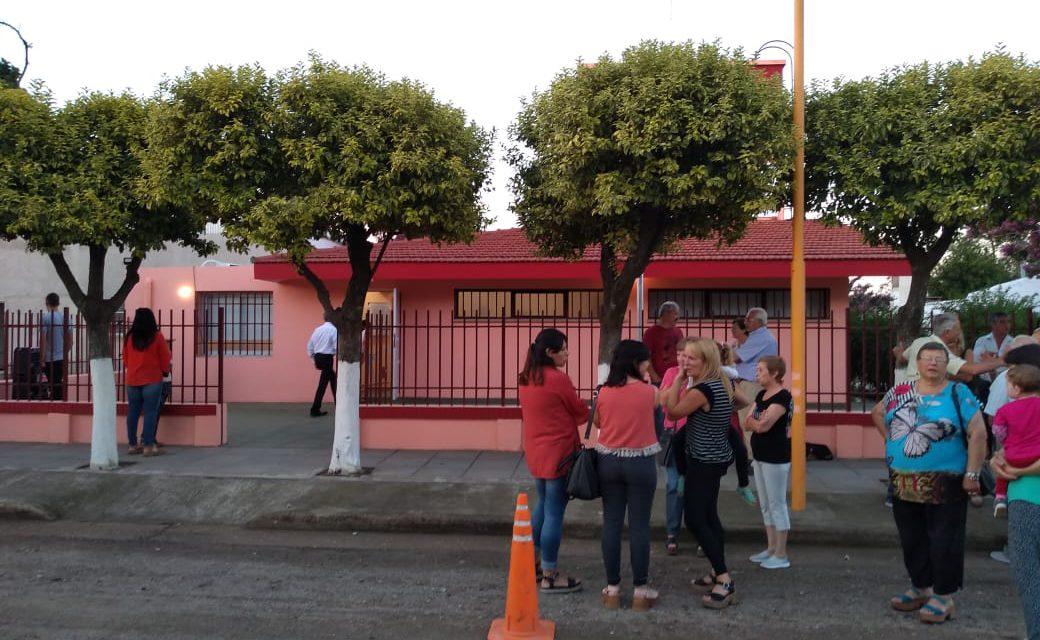 INAUGURACIÓN DISPENSARIO ESTACION COLONIA TIROLESA