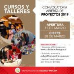 TALLERES CULTURALES Y CURSOS 2019