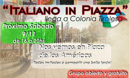Italiano in piazza