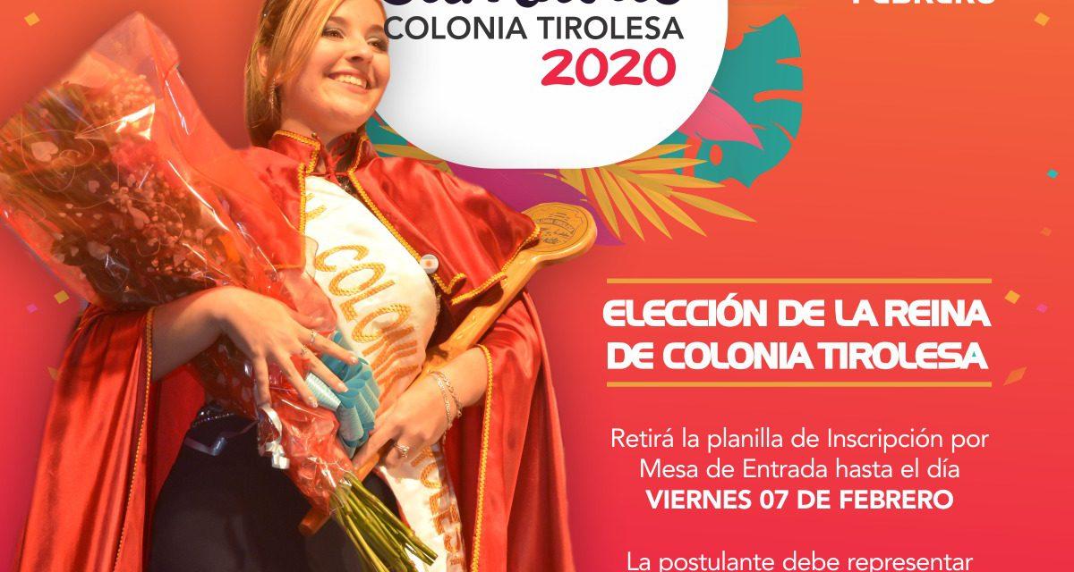 ELECCIÓN REINA Y PRINCESAS 2020