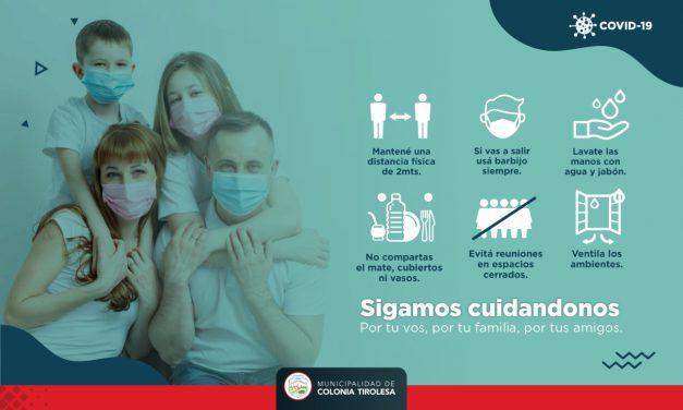 #SIGAMOSCUIDANDONOS