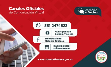 CANALES OFICIALES DE COMUNICACIÓN